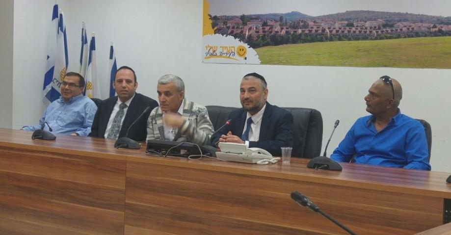 ישיבת מועצת העיר